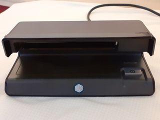 Detector UV billetes tarjetas documentos