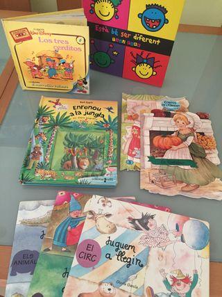 Lote Libros infantiles 10€ todos