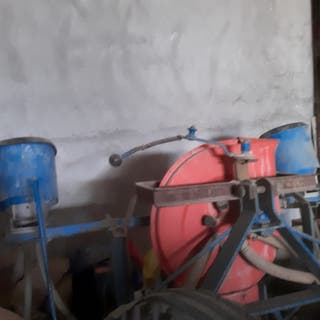 Sembradora maíz de aire