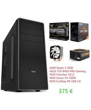 Pc Ryzen 5 3600 Gaming.Nuevo.Garantía 2años