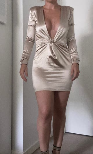 Robe Soirée Dorée