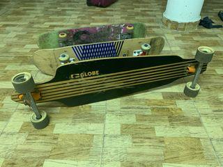 Longboard Globe + regalo 2 skates
