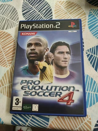 PS2 Pro Evolution Soccer 4