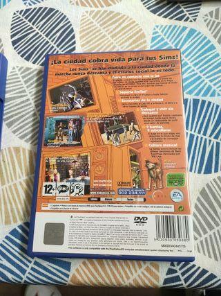 PS2 Los Urbz Sims en la ciudad