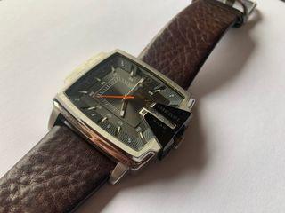 Reloj DIÉSEL Correa de cuero marrón