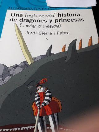 Una estupenda historia de dragones y princesas...