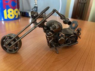 Motocicleta de exposición