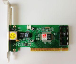 Tarjeta de red PCI 10/100 Mbps