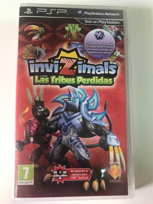 Invizimals Las Tribus Perdidas PSP