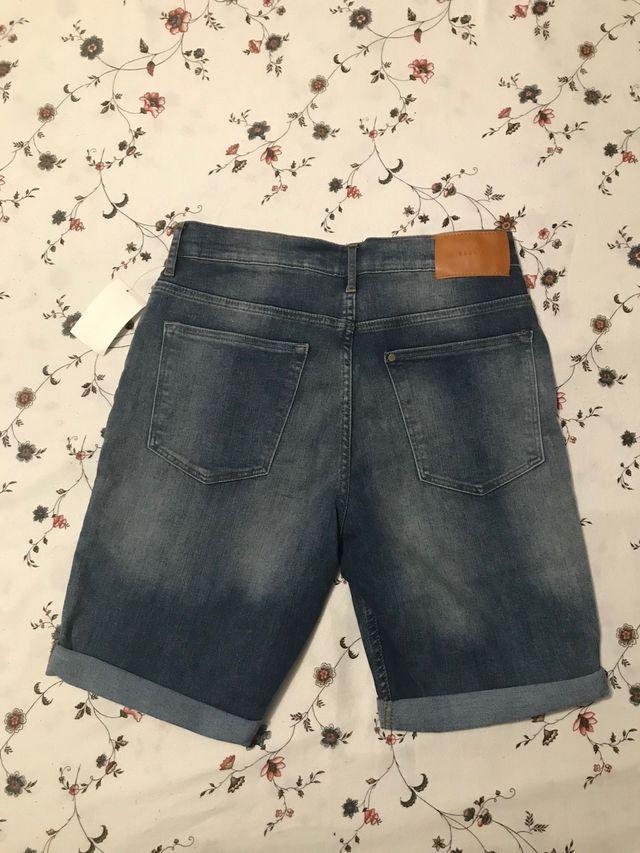 Pantalón NIÑO corto vaquero
