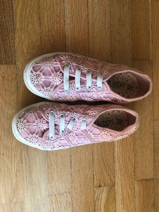 Zapatillas rosas de Bass, num 32