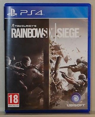 Videojuego Tom Clancy's Rainbow Six Siege PS4