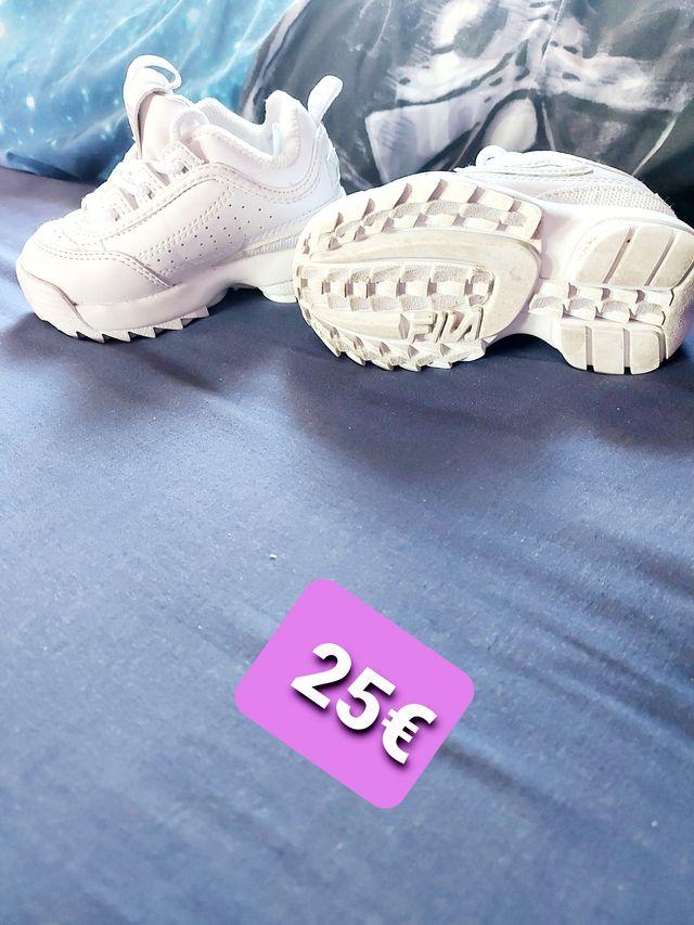 Zapatilla Fila Disruptor Bebe De Segunda Mano Por 25  U20ac En