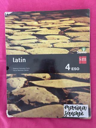 Libro SM latín 4º ESO