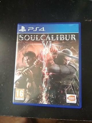 SOULCALIBUR VI PS4-