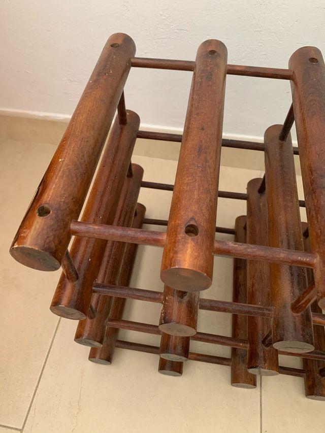 Botellero madera 12 botellas