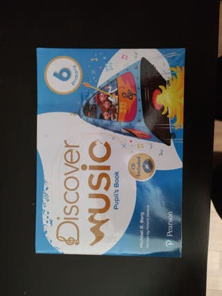 Discover music pupil's book. A ESTRENAR-1 página.