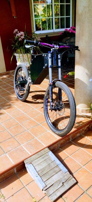 Bicicleta electrica 72v