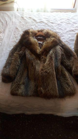 abrigos piel
