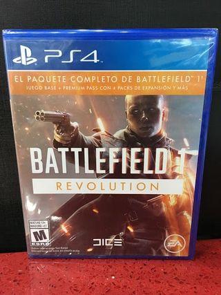 Videojuego Battlefield 1 Revolution PlayStation 4