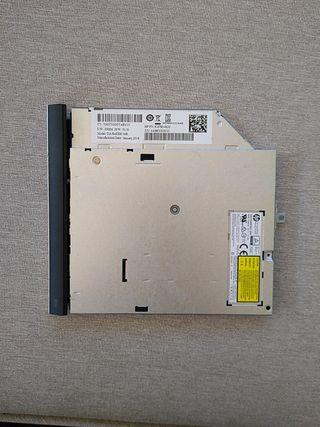 Grabadora y lector de CD y DVD para portátil HP