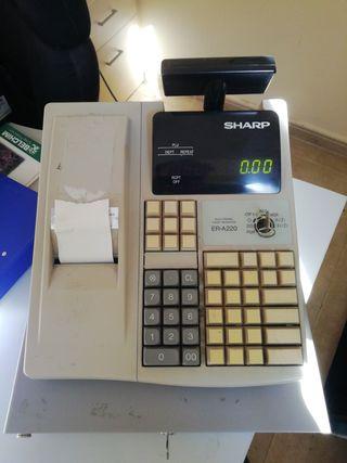 Caixa registradora. Caja registradora. Sharp.