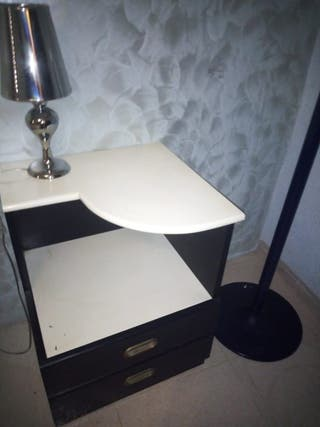 Muebles dormitorio estilo POP años 70 vintage