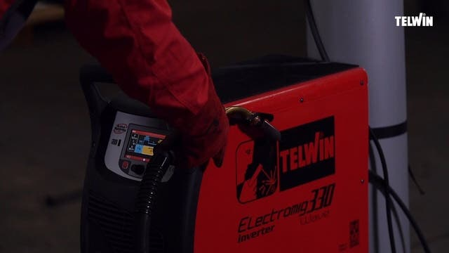 Soldadora de hilo y tig Telwin 816060