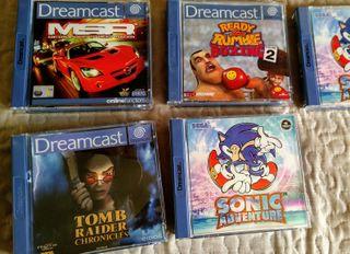Lote juegos Sega Dreamcast