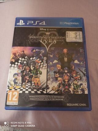 Kingdom Hearts HD 1.5+2.5 Remix Ps4
