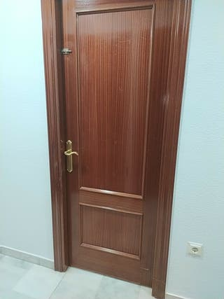 Puertas interior de madera de roble