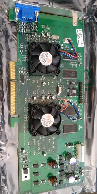 3Dfx Voodoo5 5 2D/3D AGP TARJETA GRÁFICA