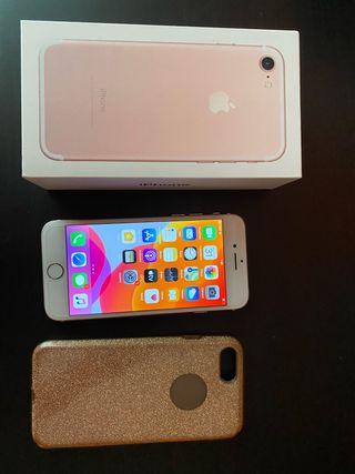 Iphone 7 rosa-oro