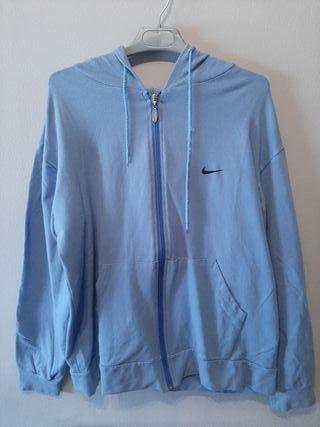 Chaqueta con cremallera Nike azul - talla XL