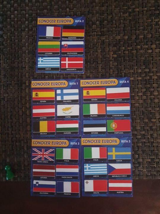 Juego de mesa Conocer Europa EDUCA