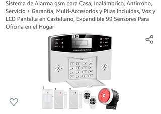 Sistema de Alarma gsm para Casa, Inalámbrico