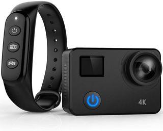 Cámara acción estilo GoPro 4k , wifi y acesorios