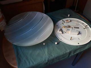 Plafon cocina de fluorescente circular