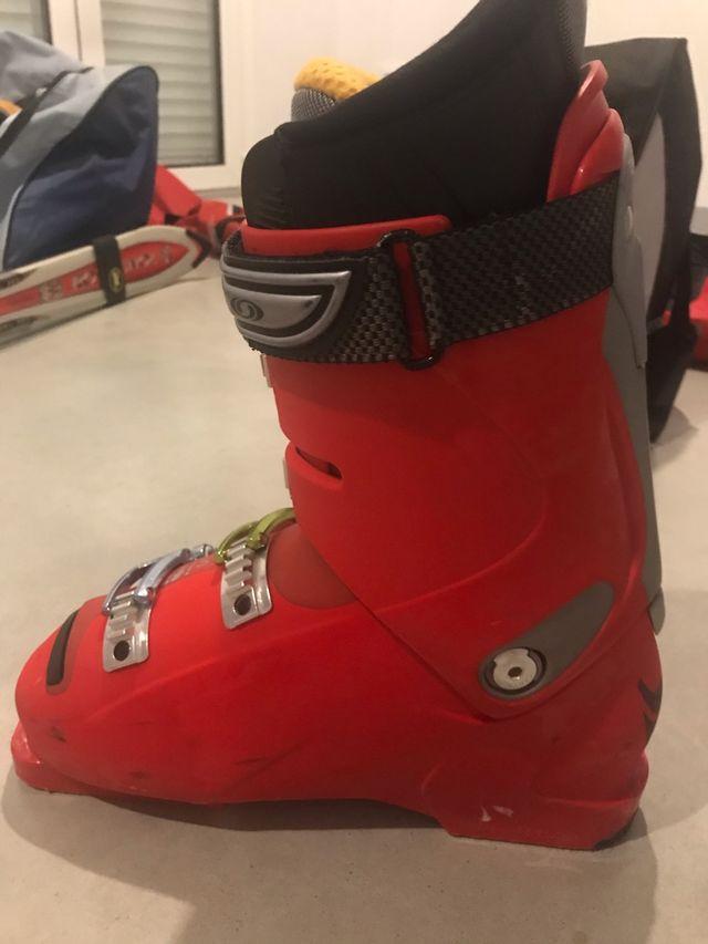 Equipo esquiar