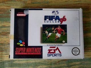 FIFA 96 para Nintendo SNES completo