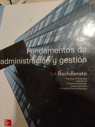Fundamentos de administración y gestión 2bachiller
