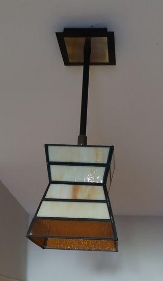 lamparas vintage de cristal