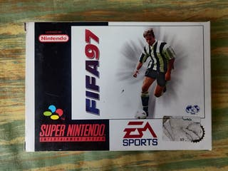FIFA 97 para Nintendo SNES completo.