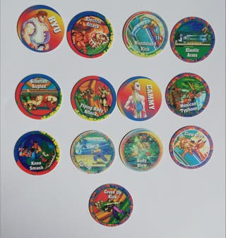 Tazos Super Street Figther