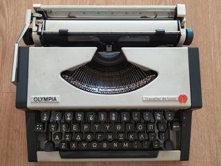 Maquina de escribir Olympia Traveller de Luxe