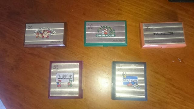 Lote consolas game and watch
