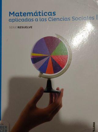 Libro Matemáticas aplicadas a las SSCC 2Bachiller