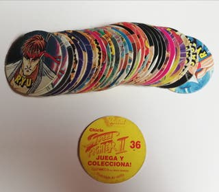 Tazos Chicle Street Figther