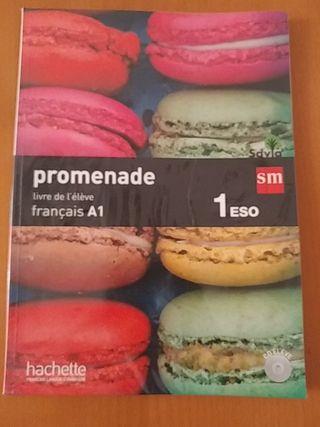Libro de Frances 1 primero ESO A1, promenade
