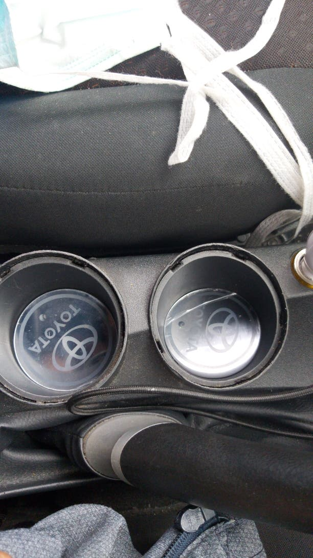 led mug holder light pad